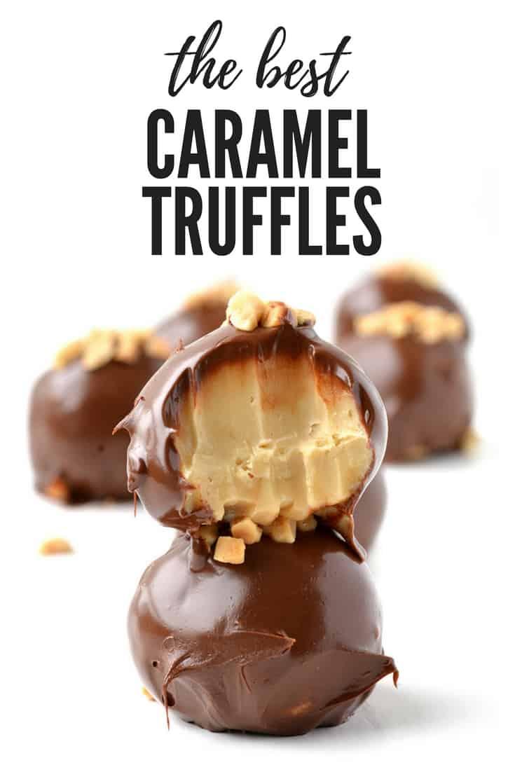 Caramel Fudge Truffles