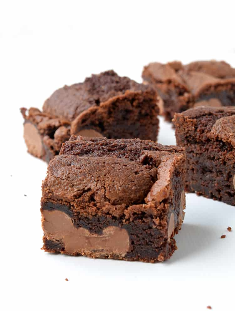 Easter Egg Chocolate Brownies