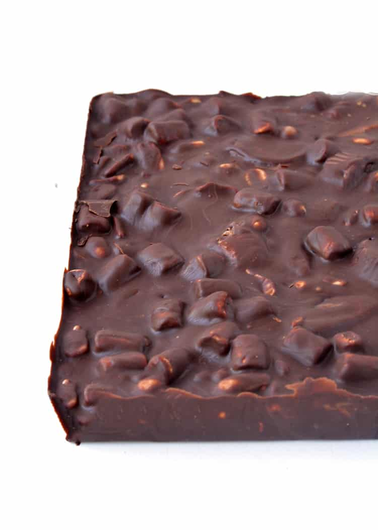 Peanut Butter Rocky Road