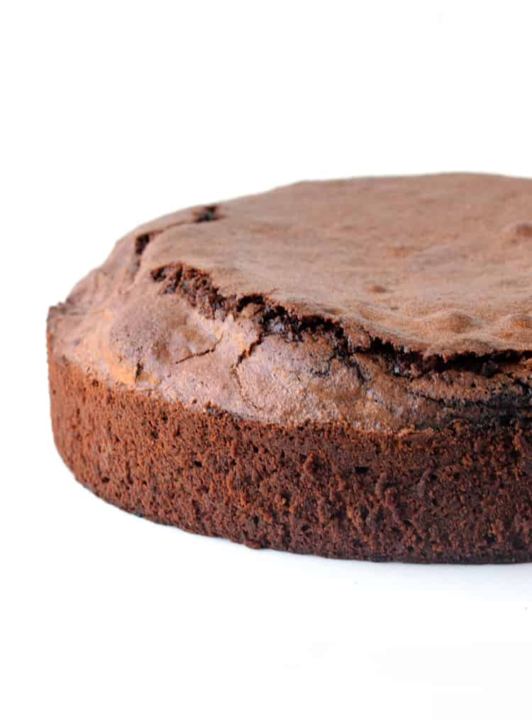 Chocolate mud cake without frosting