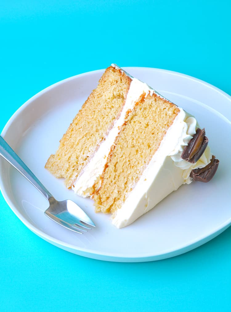 Caramel Mud Cake With White Chocolate Buttercream Sweetest Menu