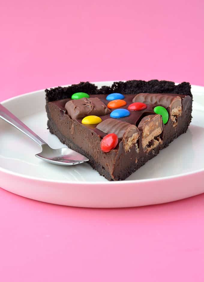 Candy Bar Chocolate Tart