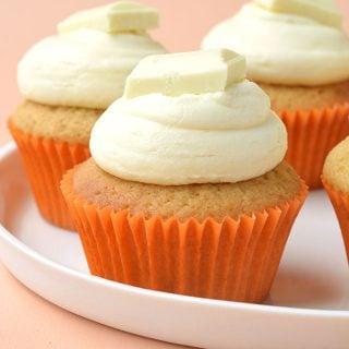 Easy Caramel Cupcakes