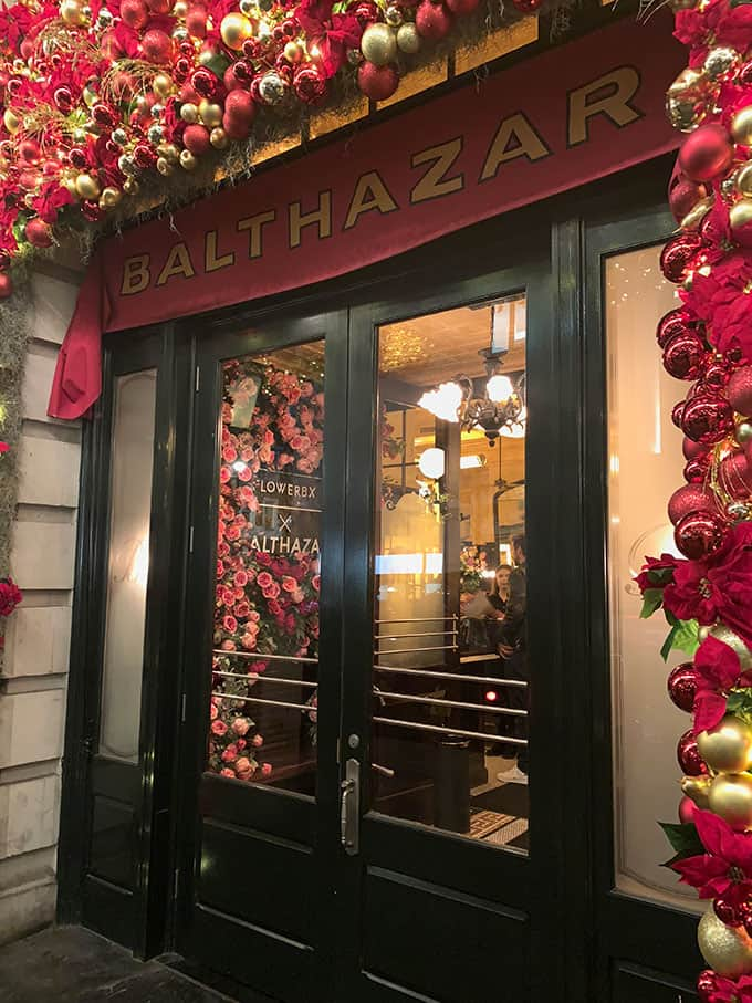 Balthazar restaurant in London