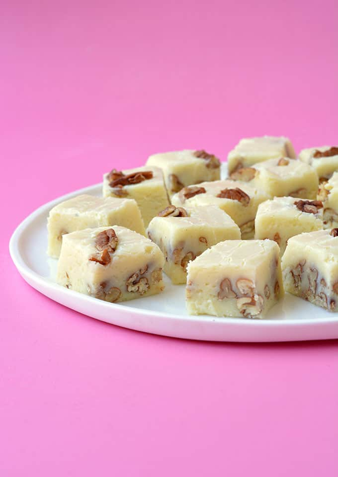 White Chocolate Fudge Super Easy Sweetest Menu