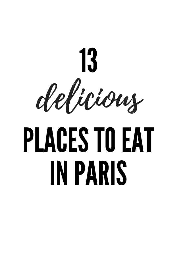 Find out the best places to eat in Paris, including where to find the most amazing croissants, caramels and cheese! Post from sweetestmenu.com #paris #eats #food #restaurants