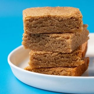 Chai Spiced Blondies