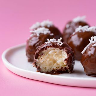 Chocolate Coconut Truffles