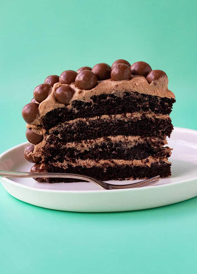 The BEST Malteser Cake - Sweetest Menu