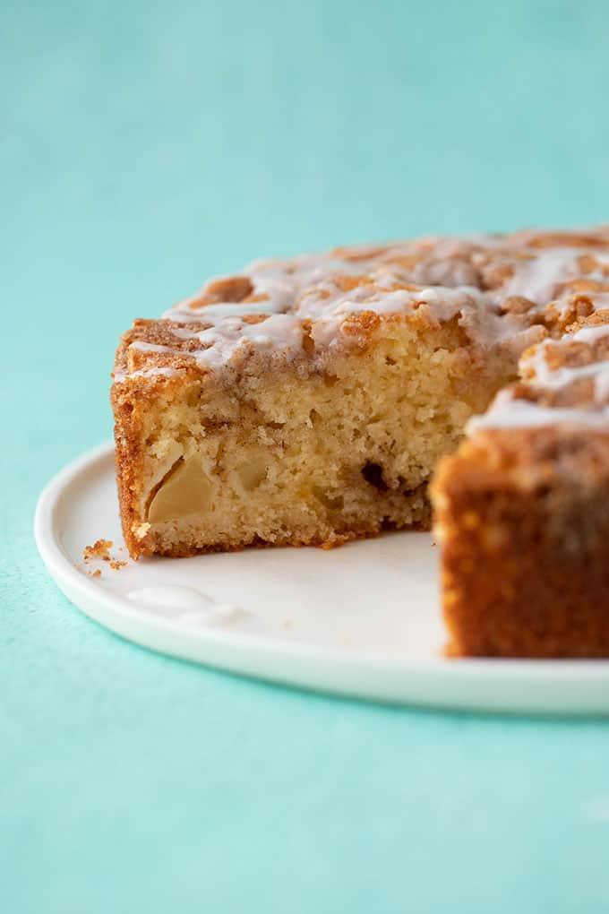 The Best Cinnamon Apple Cake Sweetest Menu