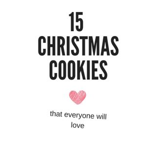 15 Amazing Christmas Cookies