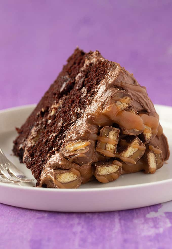 Awesome The Ultimate Twix Cake Sweetest Menu Funny Birthday Cards Online Fluifree Goldxyz