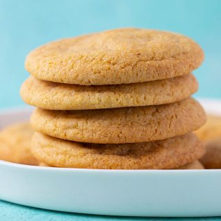 Perfect Cornmeal Cookies